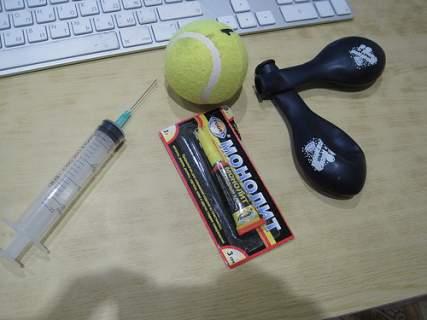Как заклеить мяч